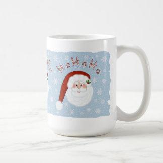 Ho Ho Ho Santa Claus Coffee Mug 15 oz