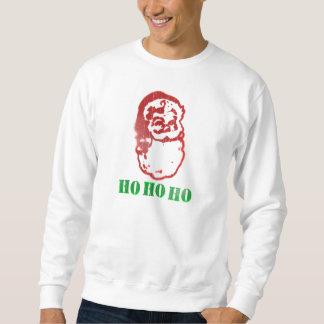 Ho Ho Ho Santa Stencil Sweatshirt