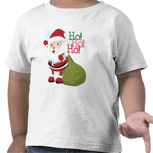 Ho-Ho-Ho Santa Toddlers shirt