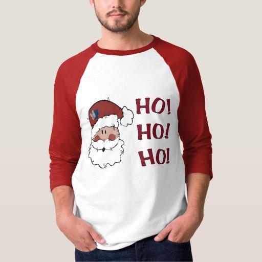 HO! HO! HO! Santa Tshirts