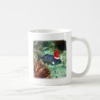 Ho Ho Ho Tropical Fish Basic White Mug