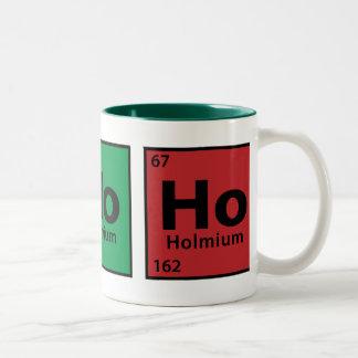 Ho, Ho, Ho Two-Tone Coffee Mug