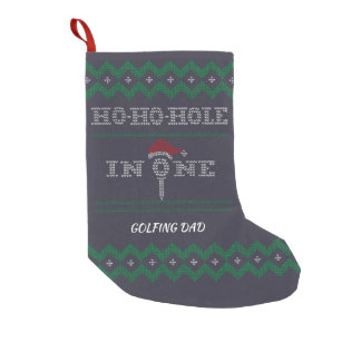 9db7808a5c6 Ho Ho Hole in One Golfers Ugly Christmas Stocking