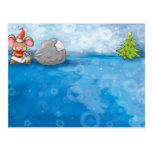 ho ho merry christmas mouse