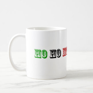Ho Ho No Anti Christmas mug
