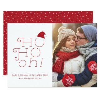 Ho Ho Oh Christmas Pregnancy Announcement