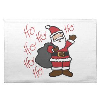 Ho Ho Santa Placemats