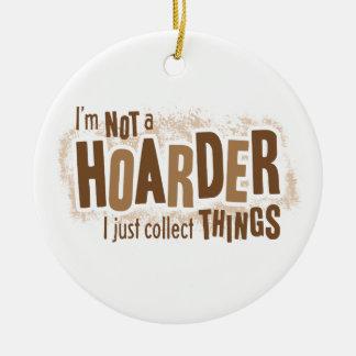 Hoarder Christmas Ornament