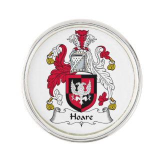 Hoare Family Crest Lapel Pin