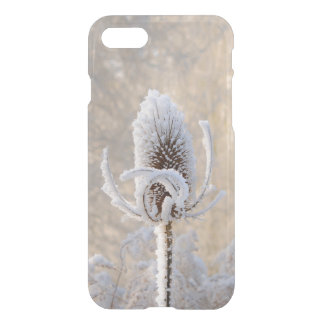 Hoarfrost on Teasels Winter Photo Scenic Nature // iPhone 8/7 Case