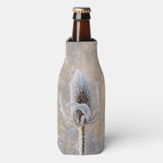 Hoarfrost Teasel Winter Photo Scenic Bottle-Jacket