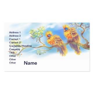 Hoatzins Double-Sided Standard Business Cards (Pack Of 100)