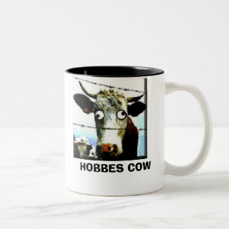 HOBBES COW Two-Tone MUG
