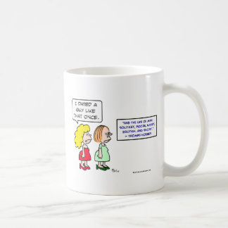 hobbes nasty brutish short dating mugs