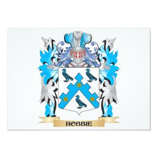 Hobbie Coat of Arms - Family Crest Custom Invite