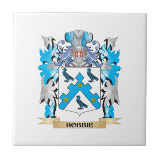 Hobbie Coat of Arms - Family Crest Tile
