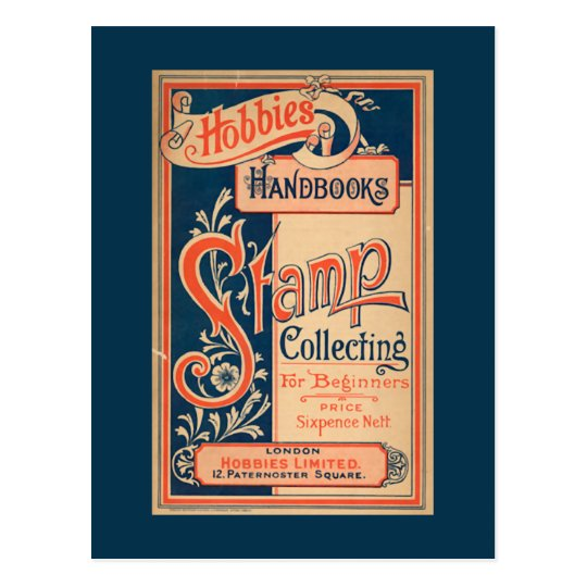 Hobbies and Handbooks Stamp Collecting Postcard