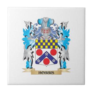 Hobbis Coat of Arms - Family Crest Ceramic Tiles
