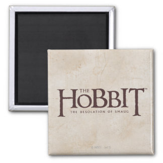 Hobbit Logo - Dark Magnet
