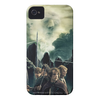 Hobbits Ready to Battle iPhone 4 Cover