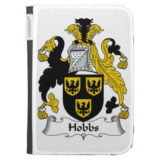 Hobbs Family Crest Kindle 3G Covers