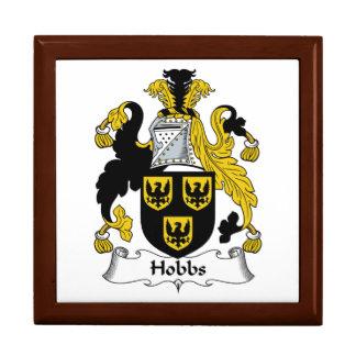 Hobbs Family Crest Keepsake Box
