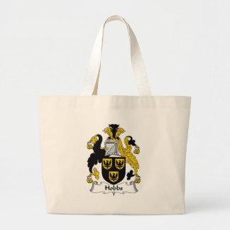 Hobbs Family Crest Jumbo Tote Bag