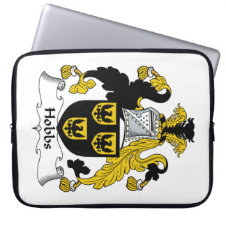 Hobbs Family Crest Computer Sleeve