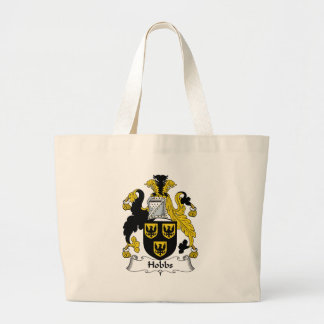 Hobbs Family Crest Large Tote Bag