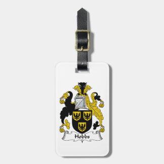 Hobbs Family Crest Bag Tag