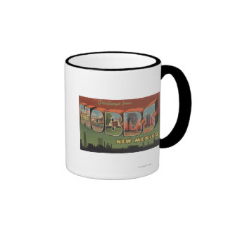 Hobbs, New Mexico - Large Letter Scenes 2 Mugs