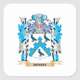 Hobby Coat of Arms - Family Crest Stickers