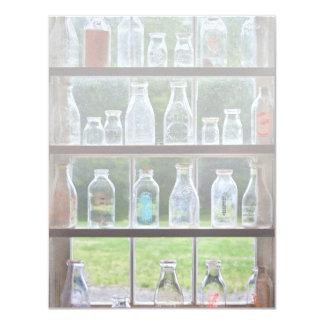 Hobby - Collector - Milk Bottles Invitation