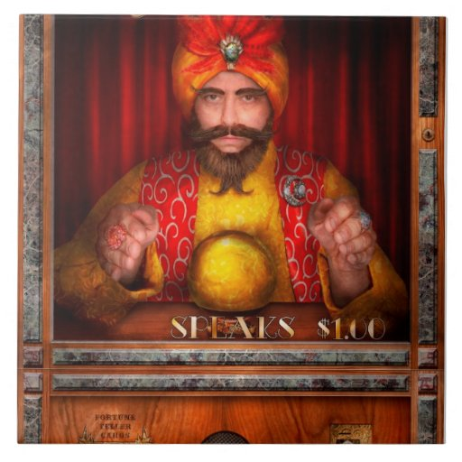 Hobby - Have your fortune told Ceramic Tile
