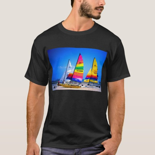 Hobie Cats in Jersey T-Shirt