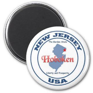 Hoboken 6 Cm Round Magnet