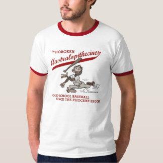 Hoboken Australopithecines - men's ringer t-shirt