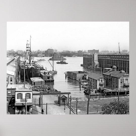 Hoboken Docks Poster