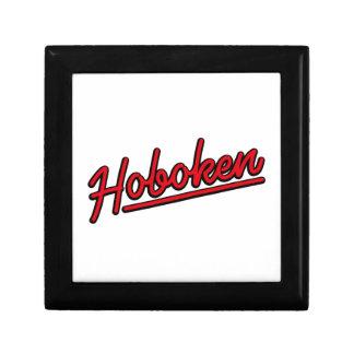 Hoboken in red gift box