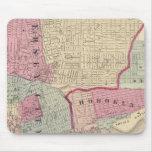 Hoboken, Jersey City Mouse Pad
