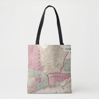 Hoboken, Jersey City Tote Bag