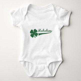Hoboken NJ Shamrock Baby Bodysuit