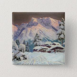 Hocheisgruppe, Austria 15 Cm Square Badge