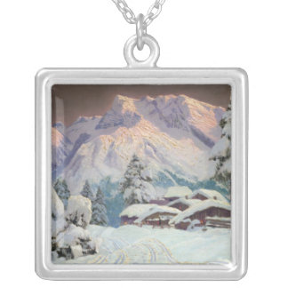Hocheisgruppe, Austria Silver Plated Necklace