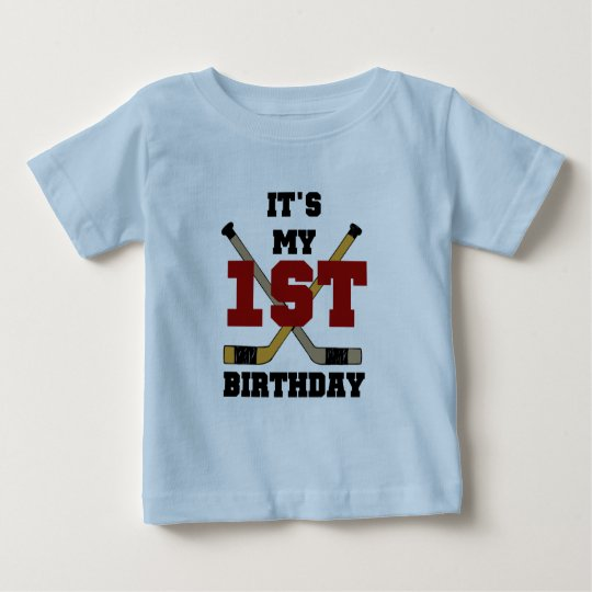 Hockey 1st Birthday Tshirts and Gifts
