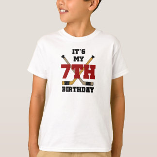 Hockey 7th Birthday T-Shirt