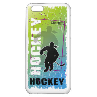 Hockey Abstract (female) Case For iPhone 5C