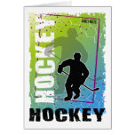 Hockey Abstract (male) Card