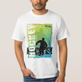 Hockey Abstract (male) T-Shirt