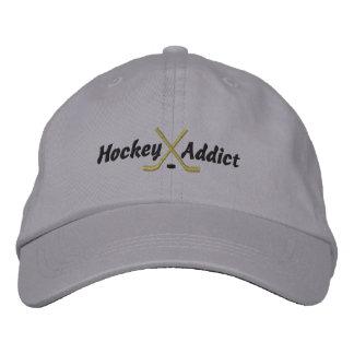 Hockey Addict Embroidered Hat